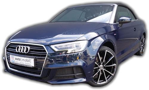 Audi A3 Cabrio 1.6 TDI S-Line YY-3003